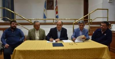 El Ministerio de Producción de la provincia firmó un acuerdo de trabajo con el INTA