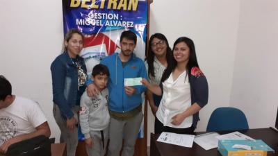 Microemprendedores de Beltrán recibieron ayuda económica desde el municipio