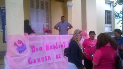 Fernández: Hoy habrá una jornada en adhesión al Día de la lucha contra el cáncer de mama