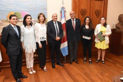 Vicegobernador recibió al coordinador Residente de la ONU en la Argentina