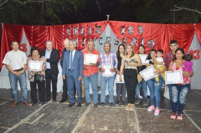 Los Romanos celebró el 185º aniversario con  inauguración de viviendas sociales