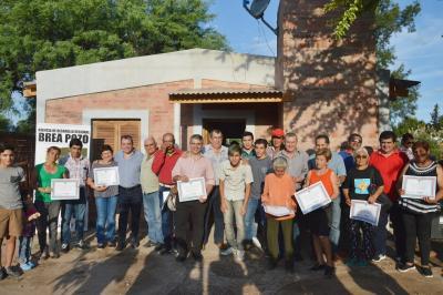 El gobierno provincial habilitó viviendas sociales amuebladas en Brea Pozo