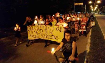 Multitudinaria marcha para pedir el esclarecimiento de la muerte de «Nino» Leguizamón