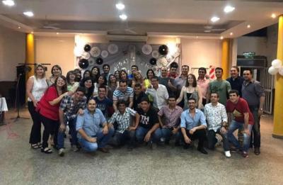 La Promo 94 de la Escuela Piloto festejó sus Bodas de Plata