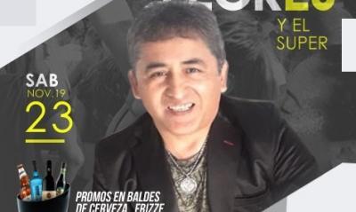 Se viene el show de Huguito Flores y el Super en Fernández