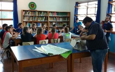 El colegio Madre Tierra participó en las olimpiadas agropecuarias 2019