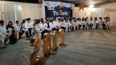 44 alumnos de séptimo grado egresaron de la Escuela N° 252 de Buey Muerto