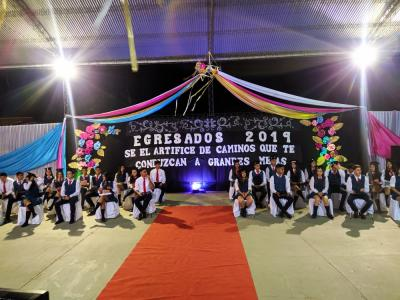 Colación 2019 en los Colegios secundarios de Beltrán