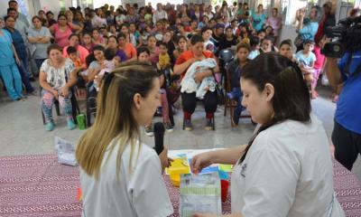 """Lanzan el Programa """"Mis Primeros 1700 días"""" en la ciudad de Fernández"""