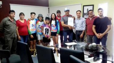 El BMX Fernández Club ya cuenta con su personería jurídica