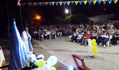 La Feligresía de Fernández  rindió homenaje a la Virgen del Valle