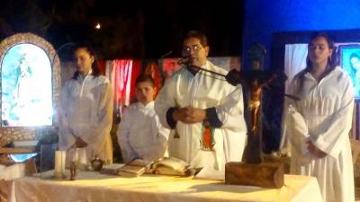 En la misa de Guadalupe pidieron por las familias y los jóvenes de Fernández