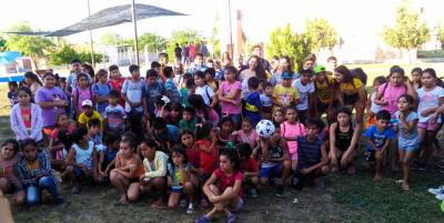 Mira las fotos del primer día de Colonia de Vacaciones en Beltrán