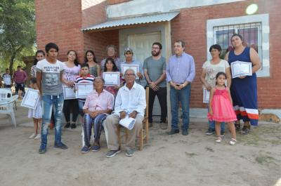 El Gobierno provincial habilitó viviendas sociales en La Noria y Medellín