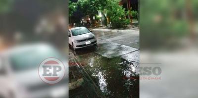 Tras agobiante jornada de calor la lluvia trajo alivio al Departamento Robles