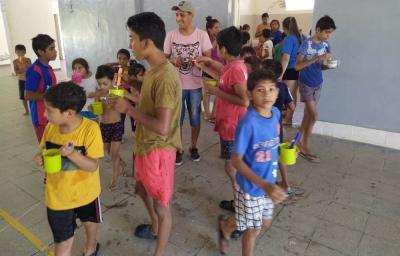Colonia de vacaciones: Los niños de Beltrán tuvieron una semana agotadora de tanta diversión