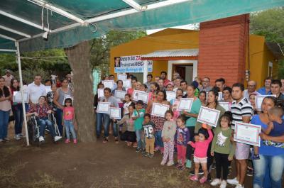29 familias santiagueñas de Vinará fueron beneficiadas con viviendas sociales