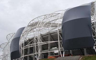 Estadio Único: cada vez más cerca de ser inaugurado