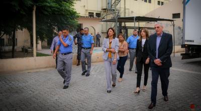 La ministra de Justicia visitó las unidades penitenciarias  de la provincia