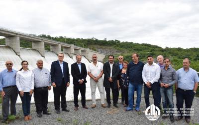 Impulsan la creación de un comité para el aprovechamiento integral del dique El Bolsón