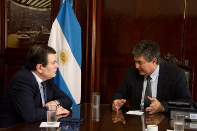 El Gobernador se reunió con el Secretario de Energía de la Nación