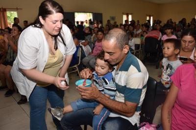 """Lanzan el Programa provincial """"Mis Primeros 1700 días"""" en el departamento Jiménez"""