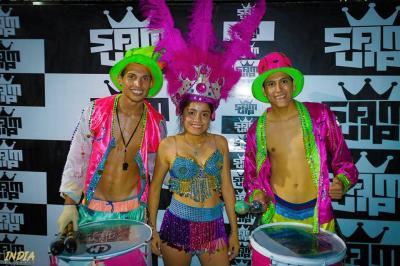Hoy desde las 20 horas viví todo el Carnaval con la competencia de Comparsas