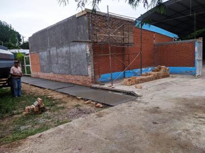 Refaccionan el Jardín de infantes «Gusanito Feliz» de Beltrán