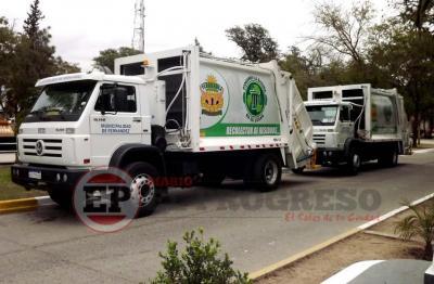 Por el feriado de Carnaval mañana no habrá recolección de residuos