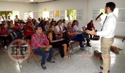 Concretaron una capacitación sobre salud mental en el Hospital de Fernández