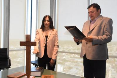 Asumió la nueva subsecretaria de Gestión en el Ministerio de Economía
