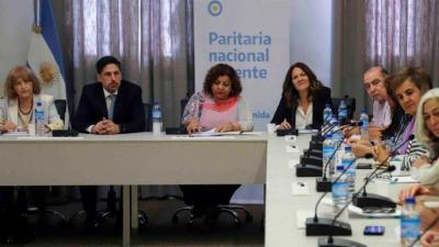 Paritarias: Hubo acuerdo entre docentes y el gobierno nacional