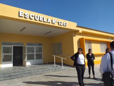 Forres: El Gobernador Zamora inaugura este lunes un moderno edificio escolar