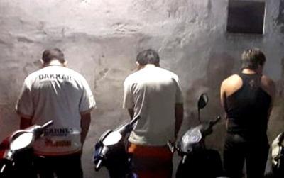 Violación de cuarentena en Forres: Un problema de pareja termino con detenidos