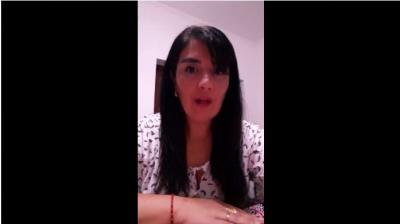 Video: La comunidad educativa del Colegio Ciudad de Beltrán envío un pedido especial para todos
