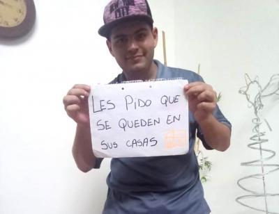 El «Crack» Juan Cruz se suma a la Campaña #QuedateEnCasa