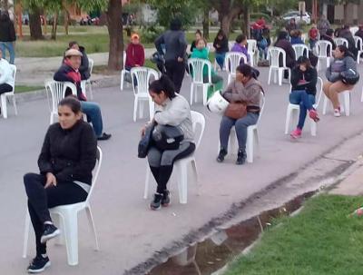 En Fernández también se priorizó el cuidado de los mayores