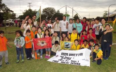 El grupo Scout de Fernández cumple hoy dos años de su fundación
