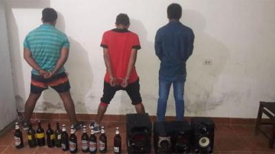 Una fiesta en el barrio Villa Aurora terminó con disturbios y detenidos