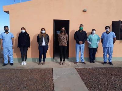 Habilitaron obras de refacción en la posta sanitaria de Villa Figueroa