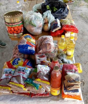 Solidarios de Forres cocinaron para cuatrocientas personas