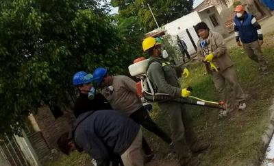 Dengue: Intensifican las fumigaciones en el Barrio Belgrano de Fernández