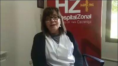 Así fue la exposición virtual de la Directora del Hospital Zonal de Fernández