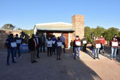 El Gobierno provincial benefició a 13 nuevas familias del interior provincial