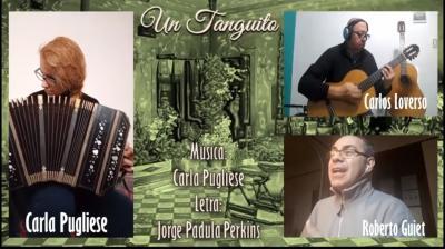 «Un tanguito» que destaca el vínculo entre el bandoneonista y su instrumento