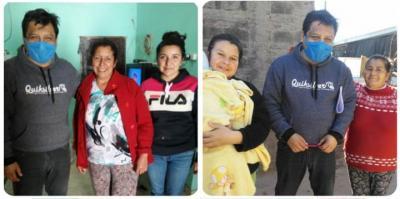 José Bravo visitó a vecinos de distintos barrios de Beltrán y entregó módulos alimentarios
