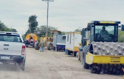 Vecinos del paraje Vinal contarán con casi dos kilómetros de camino enripiado