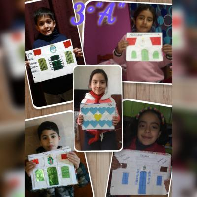 Niños de Taboada le pusieron color y alegría al acto virtual por el día de la independencia