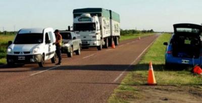 Fernández: difunden recomendaciones para choferes de camiones y transportistas