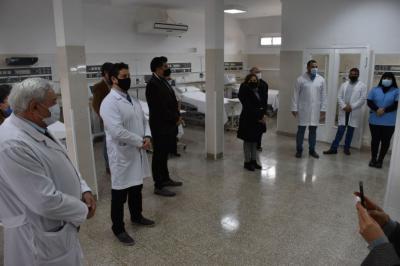En el marco de los 60 años del hospital Regional inauguran la re funcionalización de la terapia